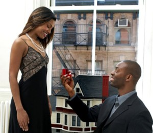 african american marriage proposal